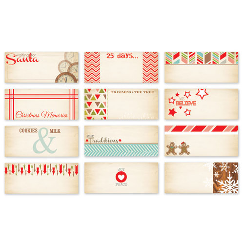 Chic Tags - Christmas - 25 Days Mini Tags - Set of 12