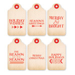 Chic Tags - Christmas - 25 Days Gift Tags - Set of 6