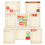 Chic Tags - Christmas - 25 Days Cards - Set of 8