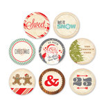 Chic Tags - Christmas - 25 Days Icons - Set of 8