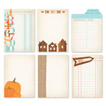 Chic Tags - Autumn Days Artist Trading Cards - Set of 6