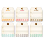 Chic Tags - Autumn Days Note Tags - Set of 6