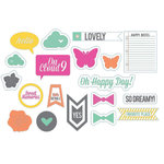 Chic Tags - Cloud 9 Collection - Tidbits - Clear Acetate Tags