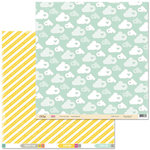 Chic Tags - Cloud 9 Collection - 12 x 12 Double Sided Paper - Dreamy