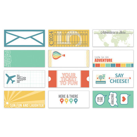 Chic Tags - Lets Go Collection - Mini Tags