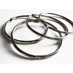 Chicory Chic - Ribbon Ring - Metal Book Rings - 3 Inch