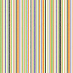 Doodlebug Designs - Patterned Paper - Halloween Collection - Loopy Stripes, CLEARANCE