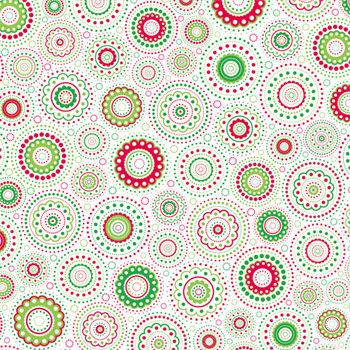 Doodlebug Design - Patterned Paper - Christmas Collection - Kaleidoscope