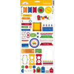 Doodlebug Designs - Cardstock Stickers - School Collection