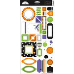 Doodlebug Designs - Whimsy Wafers - Self-Adhesive Chipboard - Halloween Collection, CLEARANCE