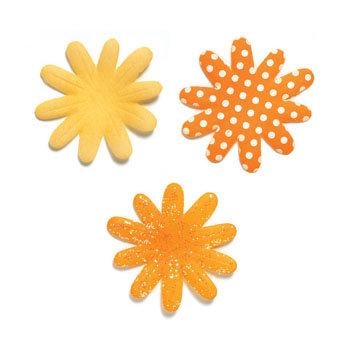 Doodlebug designs silk flowers tangerine clearance mightylinksfo