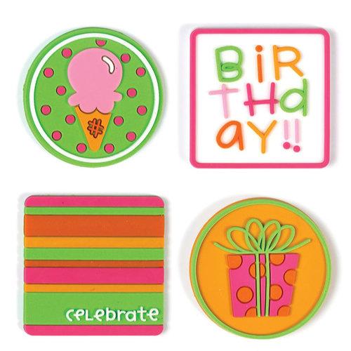 Doodlebug Design - Jellishments - Birthday Girl, CLEARANCE