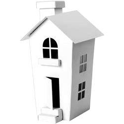 Doodlebug Design - Plain and Simple - Chipboard Houses - Large