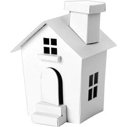 Doodlebug Design - Plain and Simple - Chipboard Houses - Small