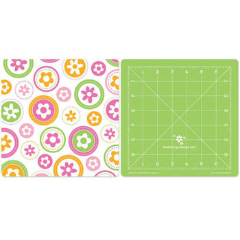 Doodlebug Design - 8 x 8 Reversible Craft Mat - Limeade