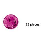 Doodlebug Design - Jewels Adhesive Rhinestones - Bubblegum, CLEARANCE