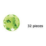 Doodlebug Design - Jewels Adhesive Rhinestones - Limeade, CLEARANCE