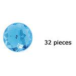 Doodlebug Design - Jewels Adhesive Rhinestones - Swimming Pool, CLEARANCE