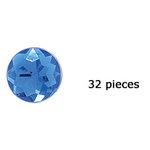 Doodlebug Design - Jewels Adhesive Rhinestones - Blue Jean, CLEARANCE