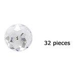 Doodlebug Design - Jewels Adhesive Rhinestones - Lily White, CLEARANCE