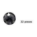Doodlebug Design - Jewels Adhesive Rhinestones - Beetle Black, CLEARANCE