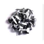 Doodlebug Design - Sugar Coated - Brads - Tuxedo Assortment