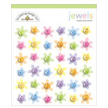 Doodlebug Designs - Jewel Assortments - Pastel Assortment, CLEARANCE