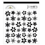 Doodlebug Designs - Jewel Assortments - Tuxedo Assortment, CLEARANCE