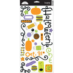 Doodlebug Design - Halloween Collection - Cardstock Stickers - Trick Or Treat