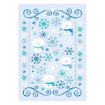 Doodlebug Design - Cold Spell Winter Collection - Rub-Ons - Cold Spell