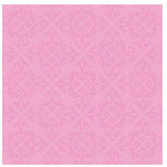 Doodlebug Design - Teen Girl Collection - 12x12 Accent Paper - Bubblegum Velvet, CLEARANCE