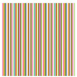 Doodlebug Design - Teen Girl Collection - 12x12 Accent Paper - Butterfly Stripe