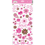 Doodlebug Design - Love Spell Valentine's Day Collection - Cardstock Stickers - Love Spell