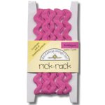 Doodlebug Design Cotton Rick Rack - Bubblegum