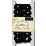 Doodlebug Design Cotton Rick Rack - Beetle Black