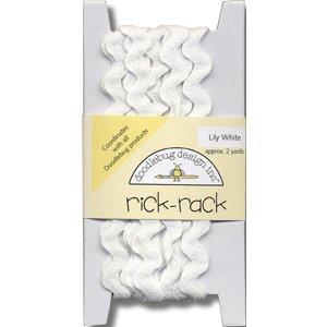 Doodlebug Design Cotton Rick Rack - Lily White