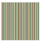 Doodlebug Design - Christmas Collection - 12x12 Accent Paper - Candy Cane Stripe