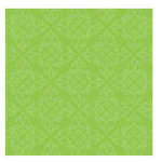 Doodlebug Designs - Christmas Collection - 12x12 Accent Paper - Limeade Velvet, CLEARANCE