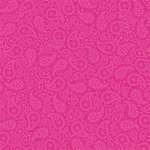 Doodlebug Design - Love Spell Valentine's Day Collection - 12x12 Paper - Very Cherry Paisley