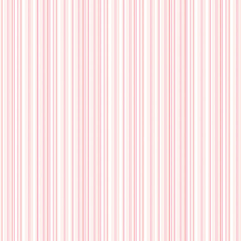 Doodlebug Design - 12x12 Accent Paper - Cupcake Boutique Stripe