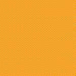 Doodlebug Designs - 12x12 Accent Paper - Tangerine Swiss Dot, CLEARANCE