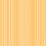 Doodlebug Design - 12x12 Accent Paper - Tangerine Boutique Stripe