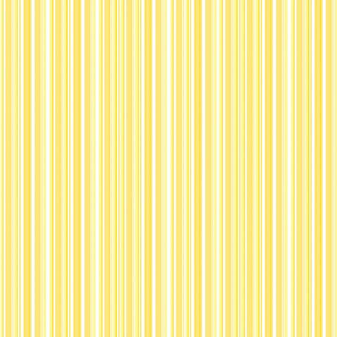 Doodlebug Design - 12x12 Accent Paper - Bumblebee Boutique Stripe