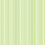 Doodlebug Design - 12x12 Accent Paper - Limeade Boutique Stripe