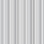 Doodlebug Design - 12x12 Accent Paper - Lily White Boutique Stripe