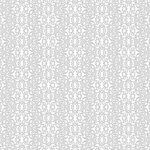 Doodlebug Design - 12x12 Accent Paper - Lily White Filagree, CLEARANCE