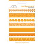 Doodlebug Designs - Boutique Trims - Assorted Ribbon - Tangerine, CLEARANCE