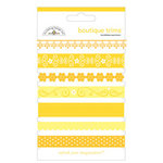 Doodlebug Designs - Boutique Trims - Assorted Ribbon - Bumblebee, CLEARANCE