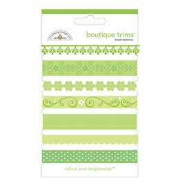 Doodlebug Designs - Boutique Trims - Assorted Ribbon - Limeade