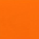 Doodlebug Design - Crushed Velvet 12x12 Cardstock - Tangerine, CLEARANCE